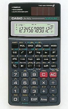 FX-992S-W-UM   Casio FX-992S-W-UM Scientific Calculator   Casio