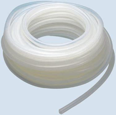 Saint-Gobain silicone Flexible Tubing, transparent, 8mm External Diameter, 25m Long, Applications Various