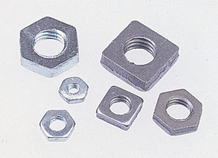 Steel, Hex Nut, M5