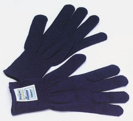 London Rubber Company Blue Abrasion Resistant, Cut Resistant, Tear Resistant Thermolite Fibre Reusable Gloves One Size