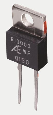 Alpha PD Series TO-220 Radial Fixed Resistor 100Ω ±0.05% 1.5W ±2.5ppm/°C