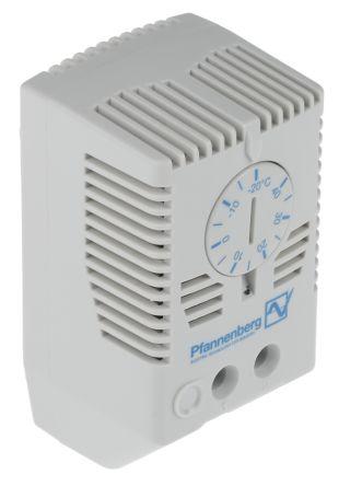 din rail mount enclosure flz530 17121000003 pfannenberg enclosure thermostat adjustable