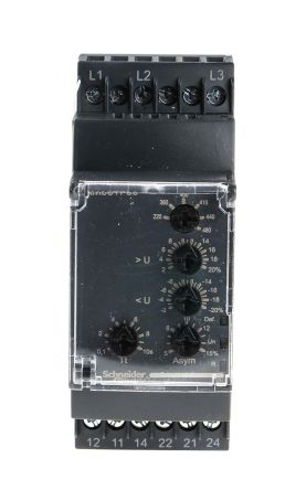 Rm35tf30 Schneider Electric Phase Voltage Monitoring