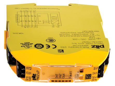 F0155816 01 pnoz s7 24vdc 4 n o 1 n c pnozsigma output module, 5 outputs, 24 pilz pnoz s4 wiring diagram at bakdesigns.co