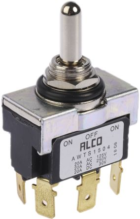 awts1504 toggle switch ip67 dpdt on off on 20 a panel toggle switch ip67 dpdt on off on 20 a