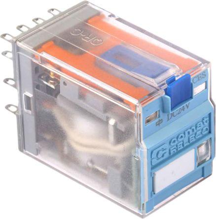 C9 A41x Dc 24 V 4pdt Plug In Relay 5a 24vdc Coil Releco