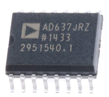 analog devices ad637jrz 真有效值-直流转换器, 16引脚 soic w封装