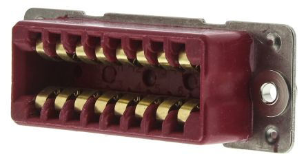 Mcmurdo 16 Way Rectangular Connector Socket