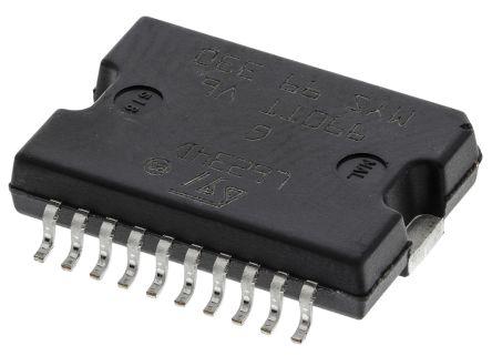 stmicroelectronics 电机驱动器 ic l6234pd, 用于bldc, 4a, 7 → 52