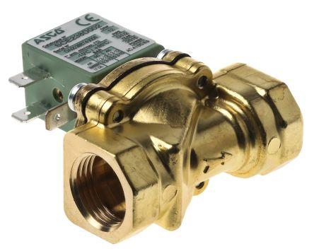 Asco Solenoid Valve SCE238C002 24/50, 2 port , NC, 24 V ac, 1/2in