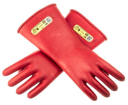 Catu Beige Electrical Safety Latex Reusable Gloves 10 - L