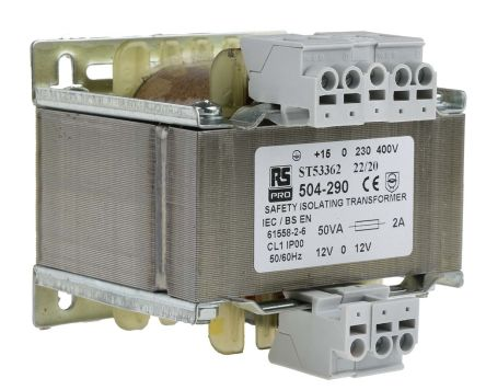F0504290 01 din rail & panel mount transformers rs components 400v to 230v transformer wiring diagram at mifinder.co