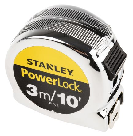 stanley powerlock series 3m tape measure metric u0026 imperial