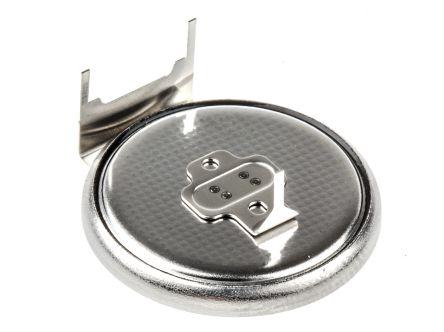 BR-2330/GUN  Batteria a bottone Panasonic, BR2330 Litio polifloruro di carbonio, Terminale Pin ...