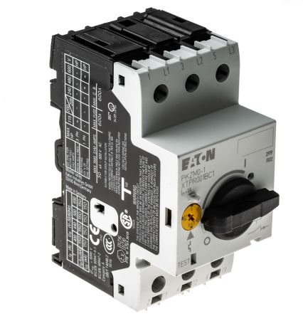 Pkzm0 1 eaton pkzm 690 v motor protection circuit for Motor operated circuit breaker