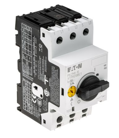 Pkzm0 10 eaton pkzm 690 v motor protection circuit for Motor operated circuit breaker