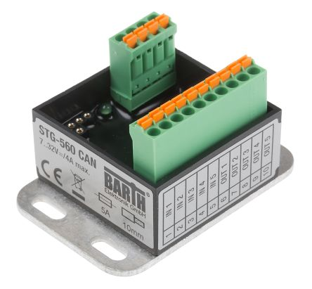 BARTH STG-560 Logiksteuerung, 7 → 32 V dc, 2 (Digital), 3 (Analog) x Input / 1 (PWM), 4 (Digital) x Output
