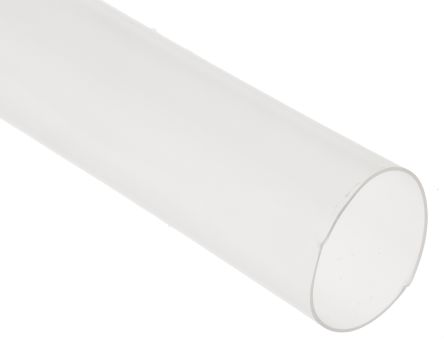 TE Connectivity Clear Heat Shrink Tubing 2:1, 12.7mm Dia x 1.22m, RNF-100 Series