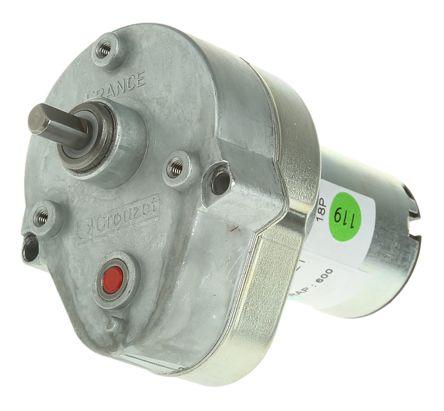 82869015 Crouzet Dc Geared Motor Brushed 24 V Dc 2 Nm