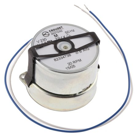 82334738 Crouzet Synchronous Ac Geared Motor Clockwise