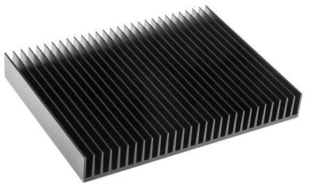 Sk42 150 Sa Heatsink 0 7k W 150 X 200 X 25mm Fischer