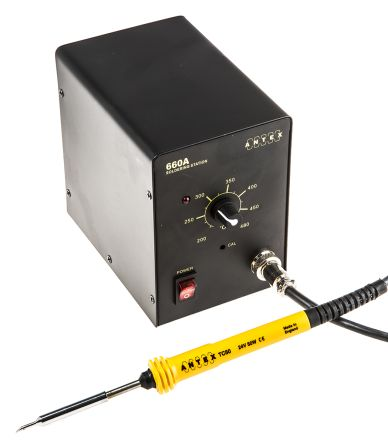 Antex Electronics 660A, Soldering Station, 230V, UK Plug, +200°C to +450°C