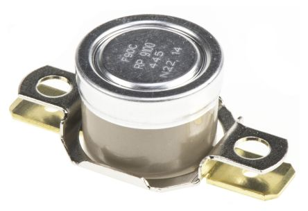 Honeywell NO 10 A Bi-Metallic Thermostat, 0 to +186 °C