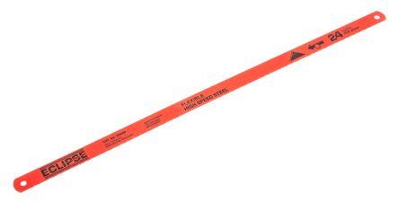 hacksaw blade. eclipse 300 mm hss hacksaw blade, 24 tpi blade n