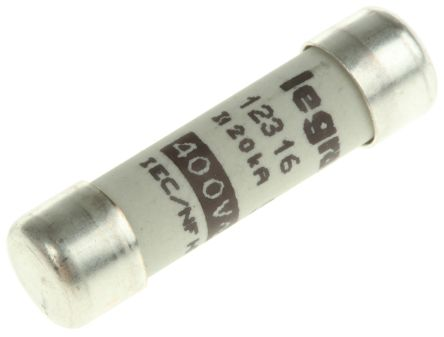 0 123 16 Legrand 16a Ceramic Cartridge Fuse F 8 5 X 31