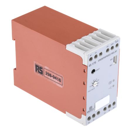 Broyce Control Speed Monitoring Relay with SPDT Contacts, 230 V ac