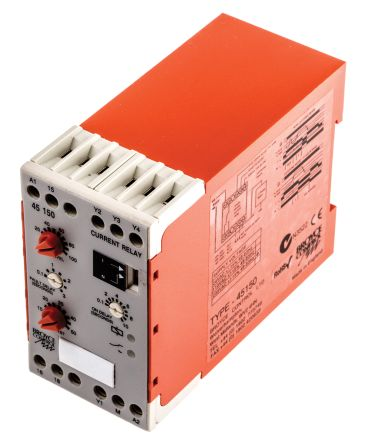 Broyce Control Current Monitoring Relay with SPDT Contacts, 1 Phase, 230 V ac