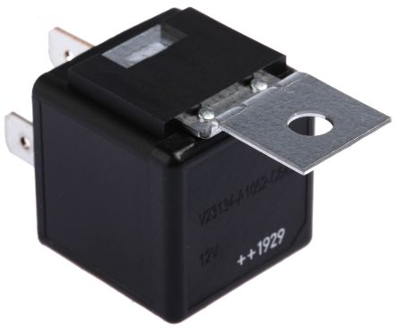 v23134a1052c643 5 1393302 8 te connectivity spdt plug in te connectivity spdt plug in automotive relay 12v dc coil 40 a