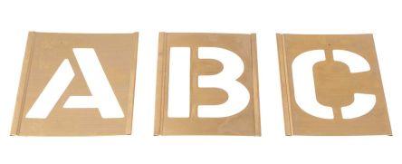 AT Brown Brass Stencil, 3in