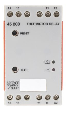 Broyce Control Temperature Monitoring Relay with SPDT Contacts, 24 V ac