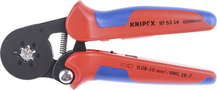 97 53 14 knipex crimping tool bootlace ferrule minimum 28awg maximum 10awg knipex. Black Bedroom Furniture Sets. Home Design Ideas