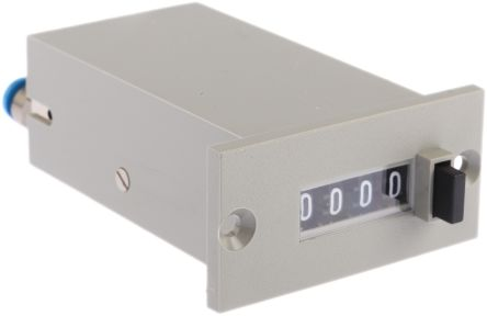 Crouzet 4 digits Pneumatic Counter, Maximum of +150°C
