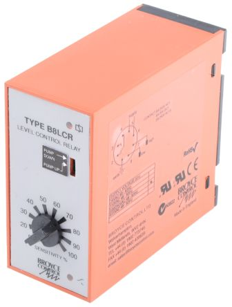 Broyce Control Level Controller, 230 V ac 1 Input