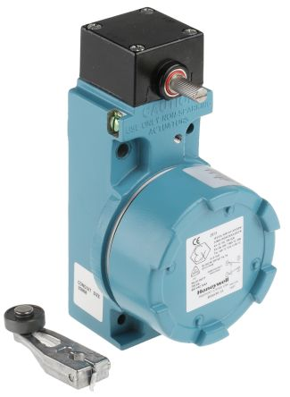 IP67 Snap Action Limit Switch, Rotary Lever, Aluminium, NO/NC, 600V