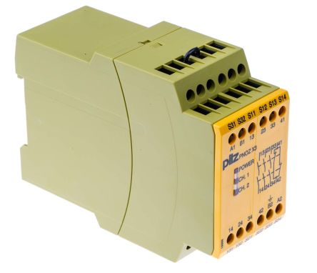 F3785366 01 pze x4 24vdc 4n o pnoz x safety relay, single channel, 24 v dc pnoz x4 wiring diagram at soozxer.org