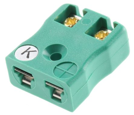 RS Pro IEC Miniature Socket for use with Type K Thermocouple
