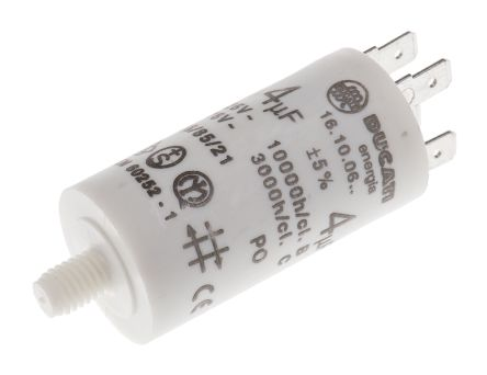 Ducati energia 4 f polypropylene capacitor for Ducati energia motor run capacitor