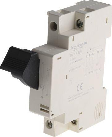 Gvax385 schneider electric undervoltage release for use for Schneider motor starter selection guide