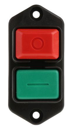 3251 21 01 commutateur bouton poussoir marche arr t interrupteur bipolaire 16 a 230 v c. Black Bedroom Furniture Sets. Home Design Ideas