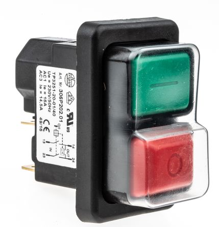 F on Flange Mounted Disconnect Switch