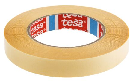 64621 00003 00 tesa 64621 white double sided plastic tape 19mm x 50m tesa. Black Bedroom Furniture Sets. Home Design Ideas