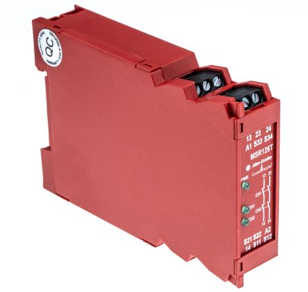F4475587 01 440r n23117 minotaur msr126t safety relay, single channel, 24 v msr127t wiring diagram at bayanpartner.co