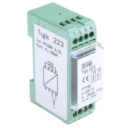 Lkm 223 2 Pt100 Temperature Transmitter 24 V 25 85