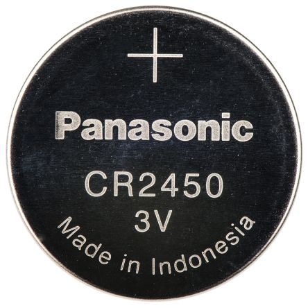 cr 2450 bn panasonic cr2450 3v lithium manganese dioxide coin button battery panasonic. Black Bedroom Furniture Sets. Home Design Ideas
