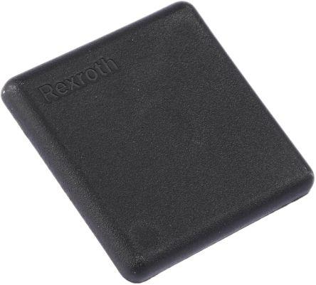 3842548747 polyamid 6 endkappe schwarz 40 x 40 mm 10mm bosch rexroth. Black Bedroom Furniture Sets. Home Design Ideas
