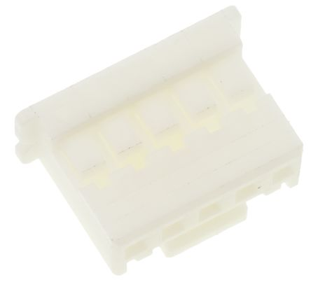 JST Polyamide Series 2mm Pitch 5 Way 1 Row Straight PCB Housing